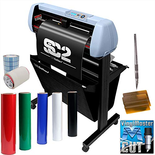 Vinyl Cutter Plotter SignShop Starter Bundle - 34 Inch SC2 Machine + Oracal 651 Transfer Tape