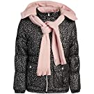Pink Platinum Girls' Winter Jacket - Water Repellent Fleece Lined Bubble Puffer Coat with Matching Scarf and Hat