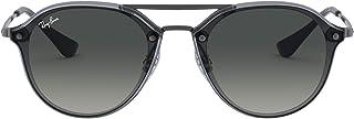 Kids' Rj9067sn Double Bridge Square Sunglasses