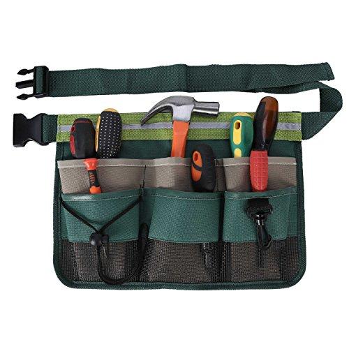 ENJOHOS Werkzeuggürtel, Werkzeugtasche 600D Oxford, Gürteltasche mit Multi-Pocket für...