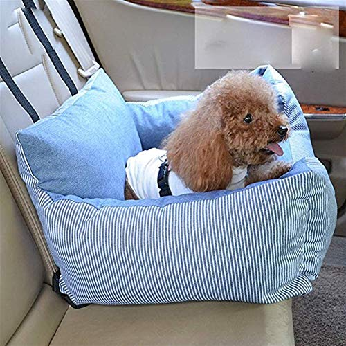Hond auto stoel huisdier auto Booster stoel huisdier hond auto benodigdheden huisdier reizen veiligheid auto stoel hond bed voor auto met opslag zak
