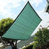 Sonnenterrasse/Markise/Fensterabdeckung, HDPE Sunblock Garden Netting Mesh, Pergola Oder Pavillon Sonne Mit ÖSen, GrüN (GrößE: 3Mx6M)