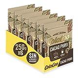 ColaCao Puro: 100% Cacao Natural y sin Aditivos - 6 Envases de 250g (1.500 g)
