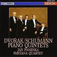 DVORAK,SCHUMANN:PIANO QUINTETS by PANENKA & SMETANA Q (2004-12-22)