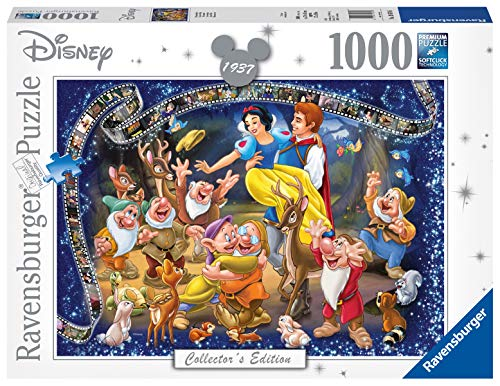 Ravensburger Puzzle 19674 - Disney Schneewittchen - 1000 Teile Puzzle für Erwachsene und Kinder ab 14 Jahren, Disney Puzzle von Schneewittchen und den 7 Zwergen