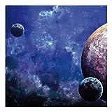 """""""Planetes"""" Spielmatte 3x3ft (91,5x91,5cm) for miniature games Space PlayMat -"""