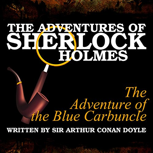 The Adventures of Sherlock Holmes: The Adventure of the Blue Carbuncle cover art