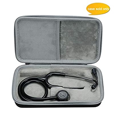 Aproca Hard Carry Travel Case fit 3M Littmann Classic III Monitoring Stethoscope