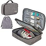 HOMEST Carrying Case for Cricut Easy Press Mini, 2 Compartments for Mini Heat Press Machine and Accessories,...