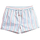 N\P Pantalones cortos a rayas de los hombres pantalones cortos de verano de los...