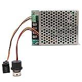 Controlador de motor, controlador de velocidad de motor de CC, controlador de velocidad de motor de CC de alta potencia ajustable Control de interruptor para motor para ajuste de corriente(With shell)