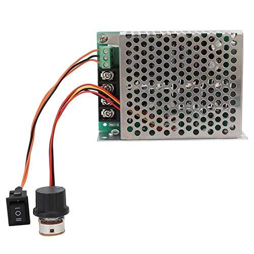 Potenciómetro de control de velocidad con interruptor Controlador de velocidad de motor de CC, controlador de motor, controlador de velocidad de motor de CC Control de interruptor para(With shell)