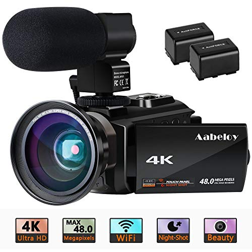 commercial camescope 4k professionnel