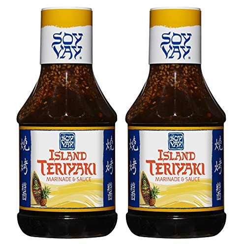 Soy Vay Marinade Island Teriyaki, 20 oz (Pack of 2)