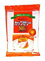 かんてんぱぱ カップゼリー オレンジ味100gX5袋