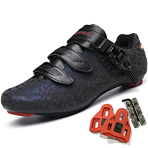 Cycling Shoes for Men Women Luminous Road Cycling Riding Shoes Peloton Shoes Breathable Cleat...