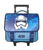 Bagtrotter SWNI18CASQ, Disney Cartable à Roulettes Star Wars, 38 x 14 x 33 cm, Bleu