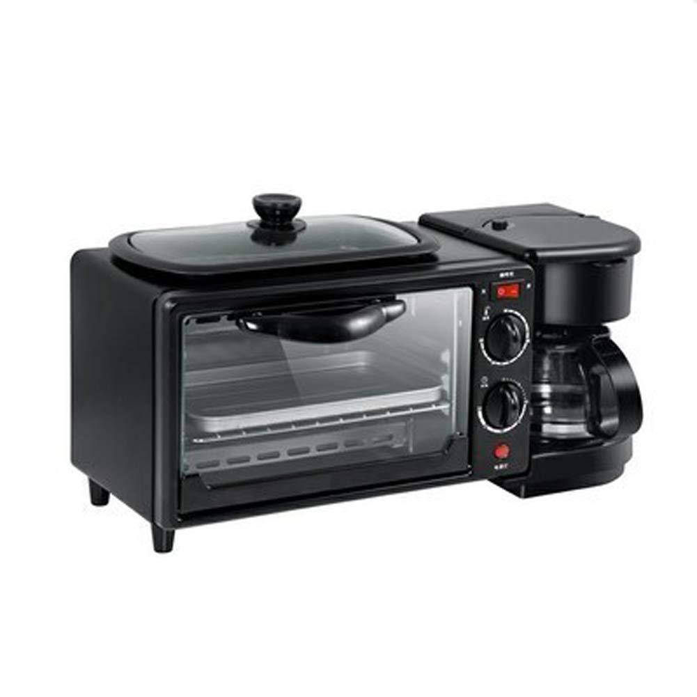 YBCD Máquina Multifuncional para el Desayuno 3 y 1 cafetera/Tetera ...