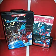 Burning Force Japan Cover with Box and Manual for MD MegaDrive Genesis Video Game Console 16 bit MD card - Sega Genniess - Sega Ninento, 16 bit MD Game Card For Sega Mega Drive For Genesis