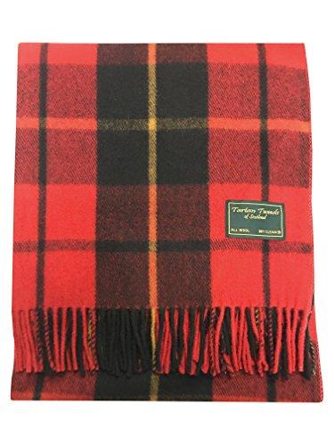 Nieuwe Tartan Wool Knie Deken Kwaliteit Tapijt in 6 Kleuren 172cm x 78cm