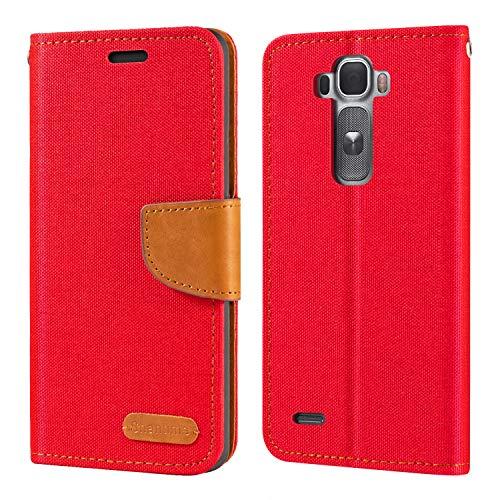 LG G Flex 2 H955 LS996 H950 US995 Hülle, Oxford Leder Wallet Hülle mit Soft TPU Back Cover Magnet Flip Hülle für LG G Flex 2 H955 LS996 H950 US995