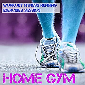 Home Gym - Workout Fitness Running Exercises Session with Dubstep Techno Electro Music
