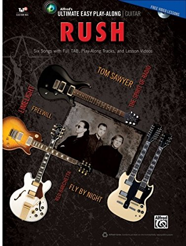 Ultimate Easy Guitar Play-Along -- Rush: Six Songs with Full TAB, Play-Along Tracks, and Lesson Videos (Easy Guitar Tab) (Book & DVD) (Ultimate Easy Play-Along)