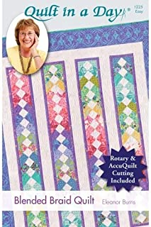 Quilt in a Day #1225 - Blended Braid Quilt Pattern