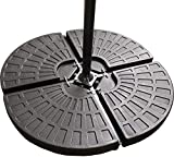 CLASSIC GARDEN SHOP® PARASOL BASE STAND WEIGHTS FOR BANANA HANGING AND CANTILEVER UMBRELLA