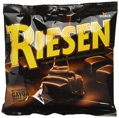 RIESEN (15 x 105g) / Karamellbonbon umhüllt von dunkler Schokolade