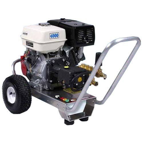 Pressure Pro E4040HG Heavy Duty Professional 4,000 PSI 4.0 GPM Honda Gas Powered Pressure Washer With General Pump