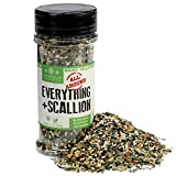The Spice Lab Everything Bagel Seasoning Blend w/ Scallion 4.1 oz. Shaker Jar - Premium Gourmet PALEO and KETO Approved Spice - The Perfect Everything Seasoning -Blend of Sesame Seeds, Garlic & Onions