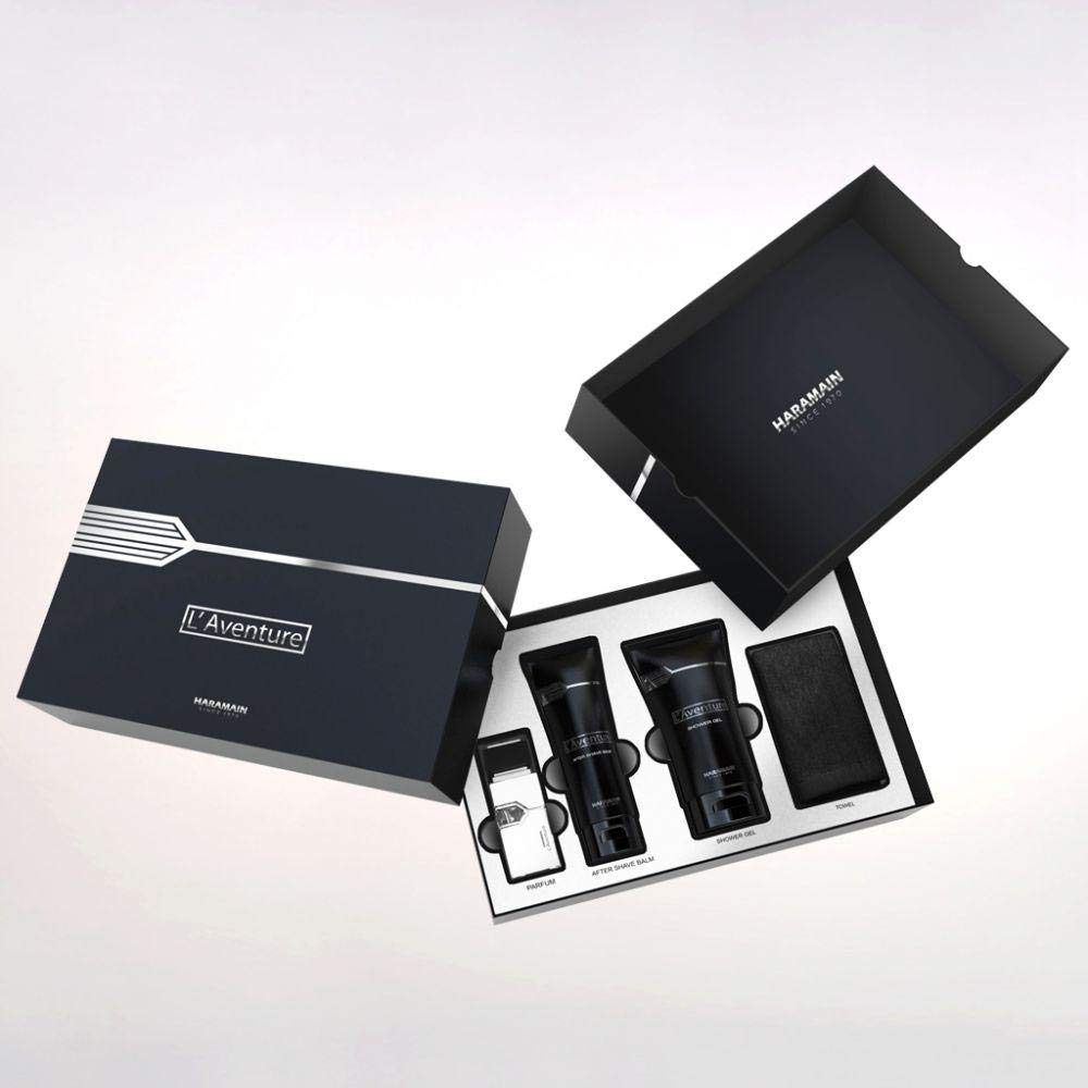 Al Harmain L'aventure Men 3 Piece New Shipping Free Set 9.33 Clearance SALE! Limited time! Ounce Box Hard