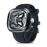 Zeblaze Hybrid2 Smartwatch, 0.96 Pulgadas de Reloj Inteligente, Pulsera Actividad Inteligente para Deporte, Reloj de Fitness con Podómetro Cronómetros,Negro