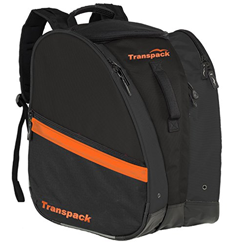 TRV Pro Boot Bag Color: Black w/ Orange Electric