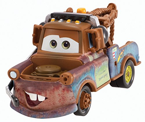 Disney Pixar Cars Race Team Mater / Martin with Headset (Pit Crew Series, # 2 of 5) - Voiture Miniature Echelle 1:55
