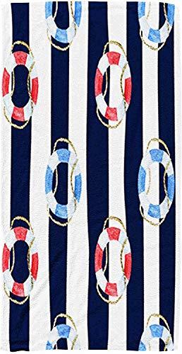 Big Beach Towel Kinder Baby Frauen und Männer Strandtücher Blue Water Texture Pattern mittags Der Atlantik 30 x 60 Zoll große Pool-Handtücher für Körperbad Schwimmen Reisen Camping Sport