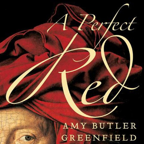 A Perfect Red audiobook cover art