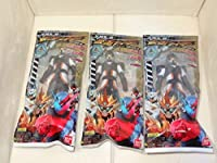 新品ソフビヒーロー 仮面ライダー エグゼイド、究極の変身!!編 「忍者プレイヤー」3個セット