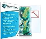 Slabo 3 x Premium Panzerglasfolie für Oppo Find X2 Neo Panzerfolie Schutzfolie Echtglas Folie Tempered Glass KLAR 9H Hartglas