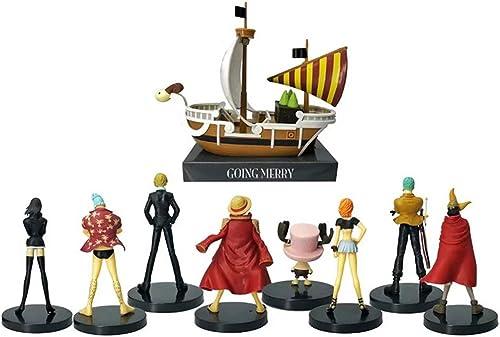 BBJOZ Anime Sculpture, Statue De Décoration en Boîte De Bateau De Pirate Au Revoir De 18cm, Modèle De Personnage De Film Sculpture