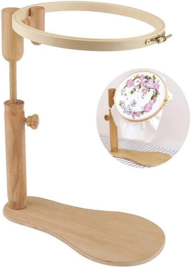 24cm Max 48% OFF Cross Stitch Frame Adjustable Wooden Stand Limited Special Price Embroider