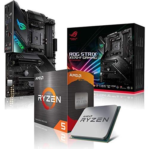 Memory PC Aufrüst-Kit Bundle AMD Ryzen 5 3600 6X 3.6 GHz, ROG Strix X570-F Gaming, komplett fertig montiert inkl. Bios Update.