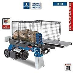 SCHEPPACH HL460 Rozdzielacz hydrauliczny Rozdzielacz drewna do 370 mm | Siła szczeliny 4 ton | Rozdwajacz drewna opałowego 230 V | Drewniany rozdzielacz stojący 1500 W