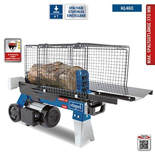 SCHEPPACH HL460 Hydraulikspalter Holzspalter bis 370 mm | 4 Tonnen Spaltkraft 4t | Brennholzspalter 230 V | Holzspalter stehend 1500 W
