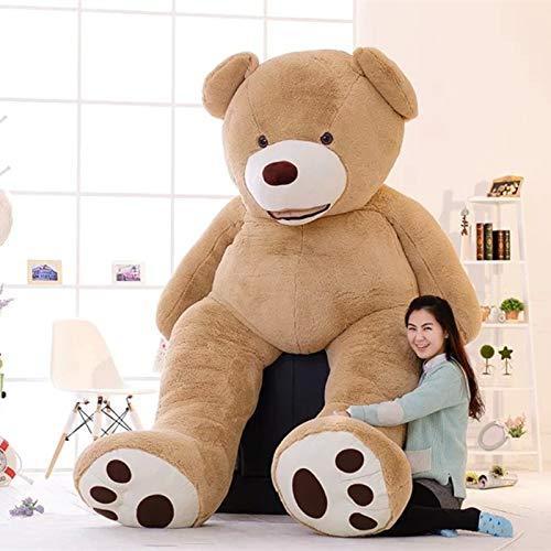 CLINGE Teddy Bear Skin 1pc Lovely Huge Size 130cm USA Giant Bear Skin Teddy Bear Hull Wholesale Price Selling Birthday Gift for Girls Baby