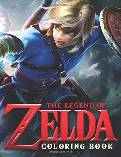The Legend Of Zelda Coloring Book: High Resolution Coloring Pages For All Fan