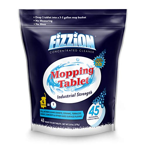 Fizzion Industrial Strength Drop and Mop (45 Tablets)