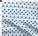 Wasserfarben, Dreiecke, Lavendel, Petrol, Lila, Aquamarin