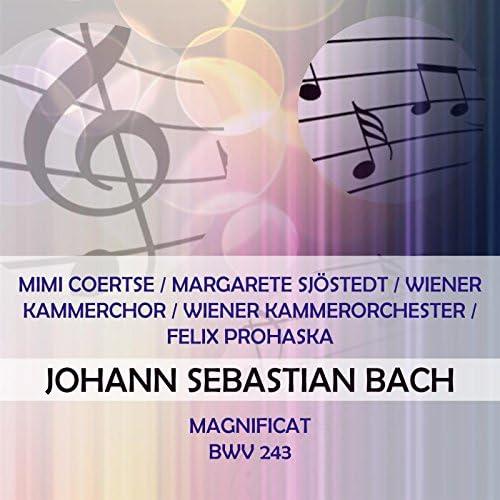 Mimi Coertse, Margarete Sjöstedt, Hilde Rössel-Majdan, Anton Dermota, Frederick Guthrie, Wiener Kammerchor & Wiener Kammerorchester
